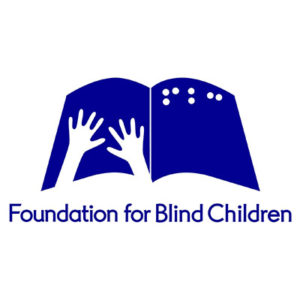 Foundation for Blind Children logo