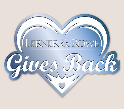 Lerner and Rowe Gives Back Blue Heart level