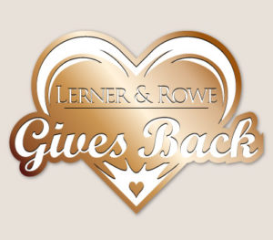 Lerner and Rowe Gives Back Bronze Heart level