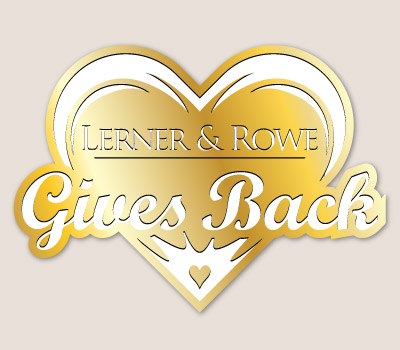 Lerner and Rowe Gives Back Gold Heart Level