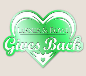 Lerner and Rowe Gives Back Green Heart Level