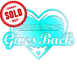 Lerner and Rowe Gives Back - Light Blue Heart