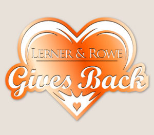 Lerner and Rowe Gives Back Orange Heart Level