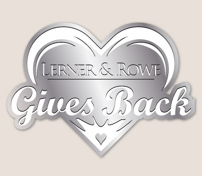 Lerner and Rowe Gives Back Platinum Heart Level