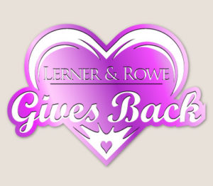 Lerner and Rowe Gives Back Purple Heart Level