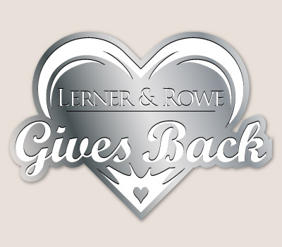 Lerner and Rowe Gives Back Silver Heart Level