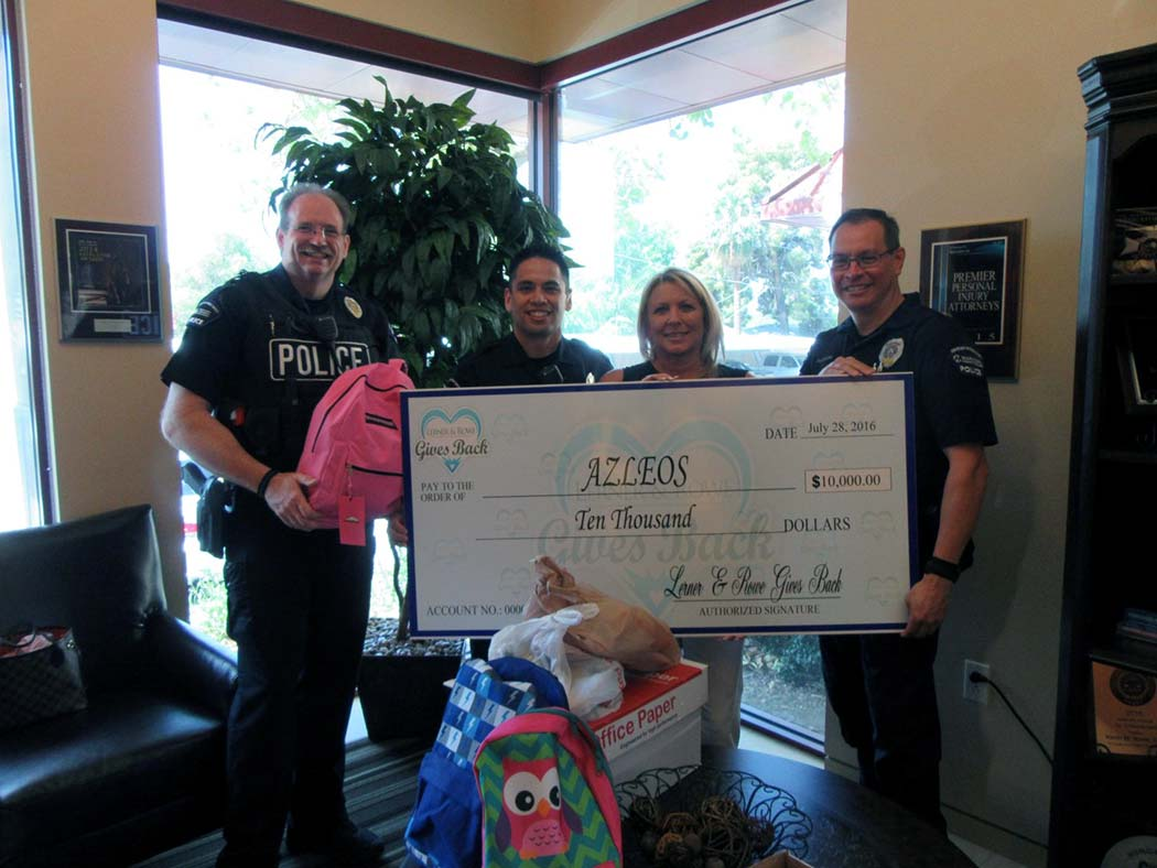 AZLEOS 2016 Donation
