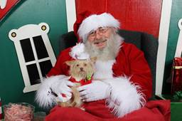 Santa at Bullhead City Winter Festival