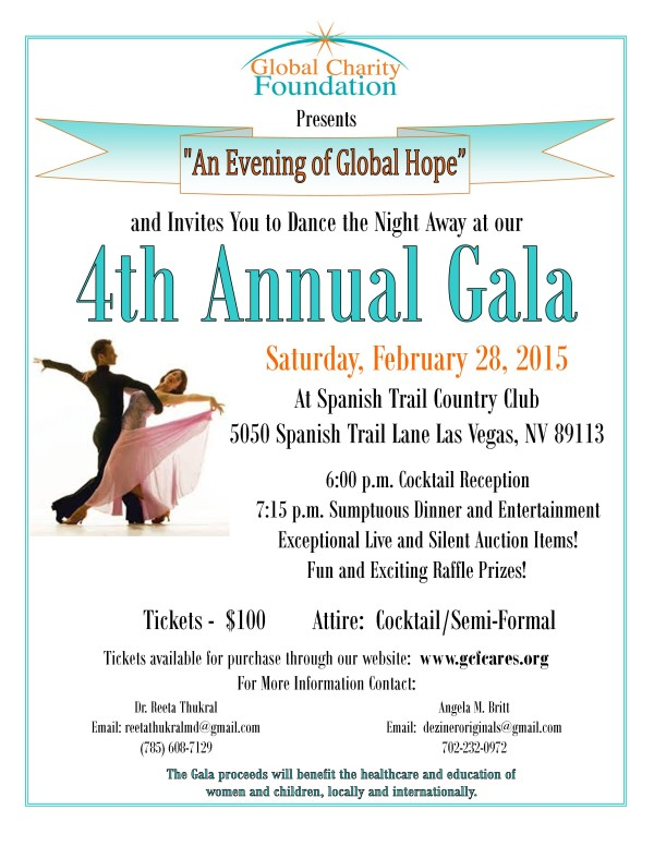 4th Annual Evening of Global Hope