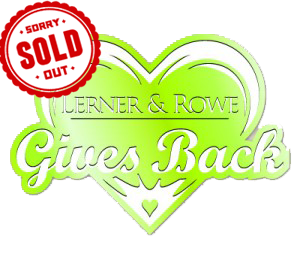 Lerner and Rowe Gives Back - Light Green Heart