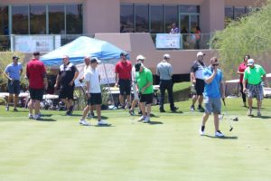 group of golfers | charity golf classic 2016