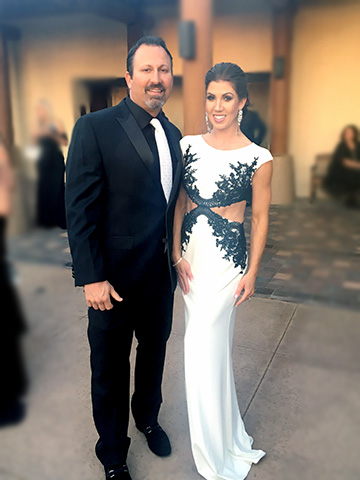 Black White Wish Ball 2017 - Kevin & Ashlyn