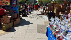 Downtown Mesa's Tiny Tots Egg Hunt