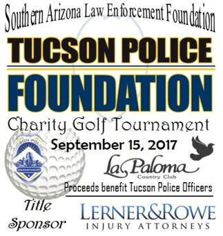 Tucson Police Foundation 2017 Charity Golf Tournament
