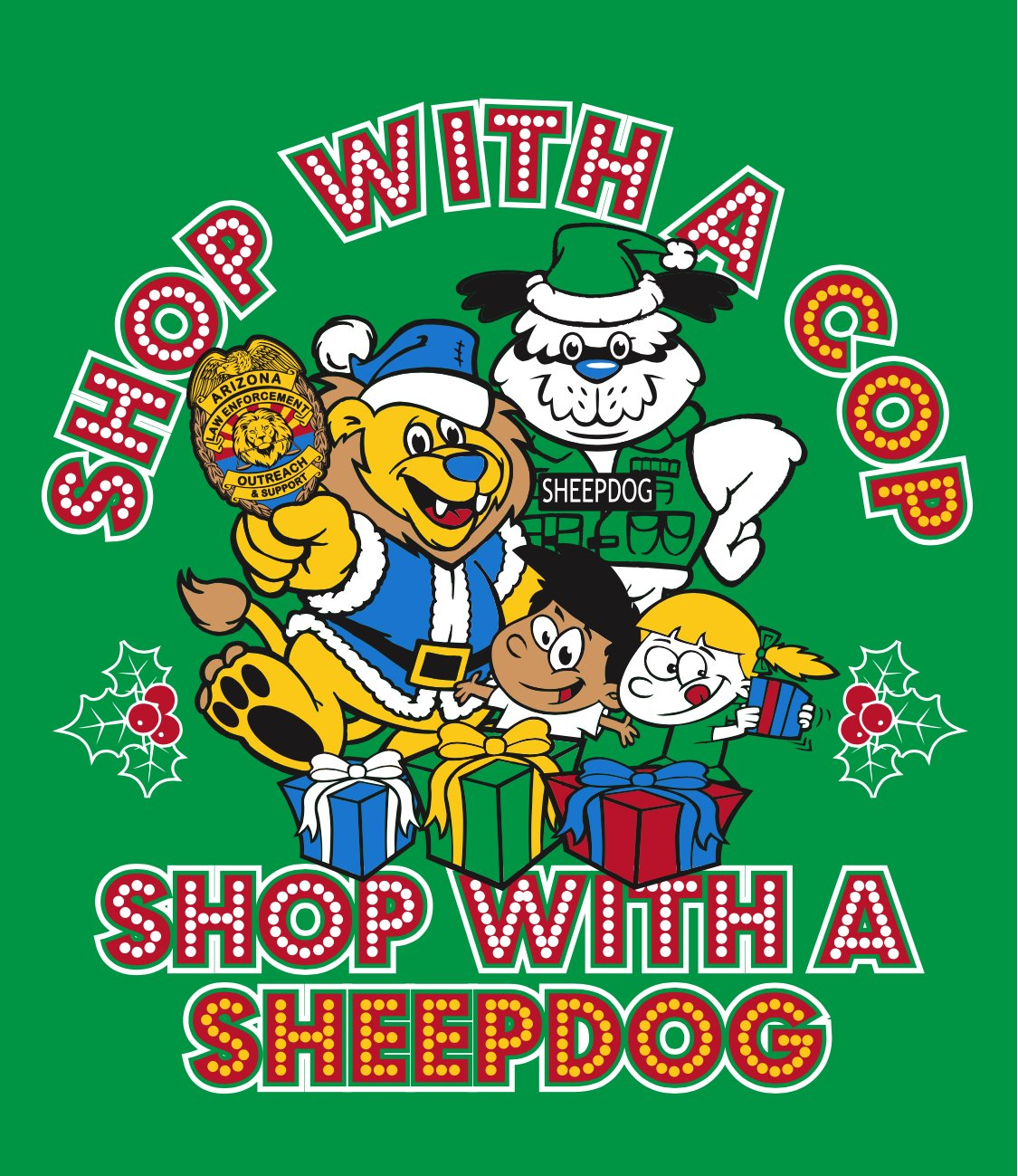 Shop With a Cop Shop With a Sheepdog 2017 Logo