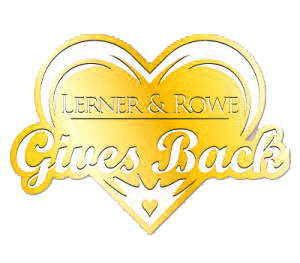 Lerner and Rowe Gives Back - Gold Heart