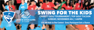Swing for the Kids event