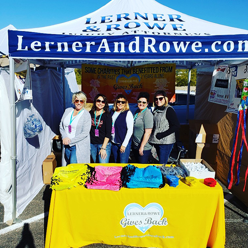 KRGB Booth at Lake Havasu Balloon Fest