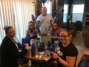 Water Bottle Assemble - National Police Week