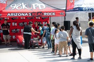 98KUPD Radio Remote Tent - 2019 Phoenix Backpack Giveaway
