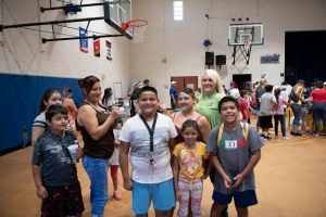 Happy, Excited Students - 2019 Phoenix Backpack Giveaway