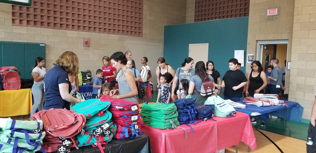Back to School Event - Elgin Backpack Giveaway