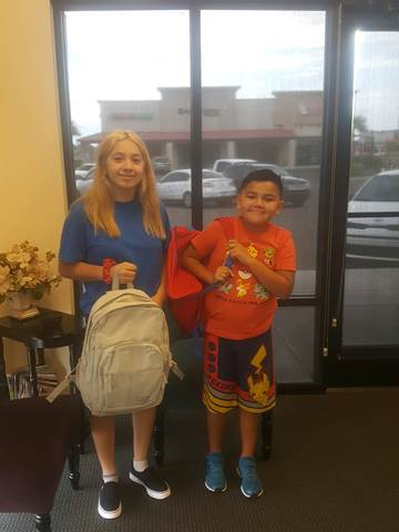 Back to School Event - Yuma Backpack Giveaway