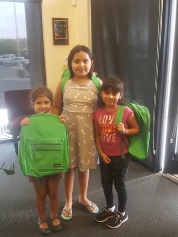 Yuma, AZ Back to School - Backpack Giveaway