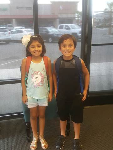 Lerner and Rowe in Yuma - Backpack Giveaway