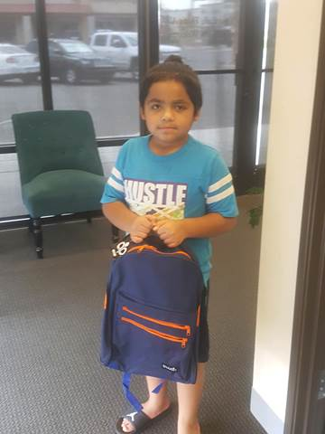 Back to School in Yuma - Backpack Giveaway