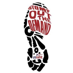 Event Graphic - Stomp Out the Demand 5K