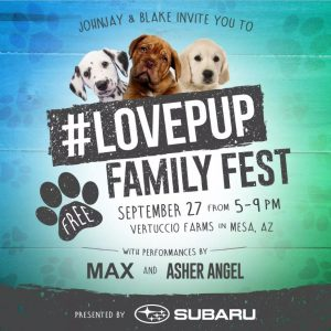 #LovePup Family Festival in Mesa