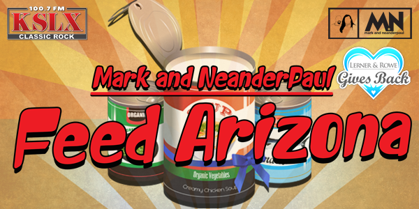 Mark & NeanderPaul Feed Arizona