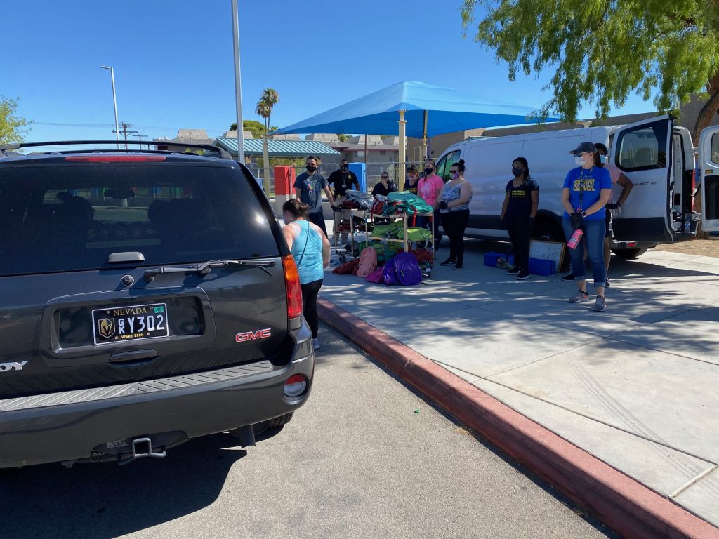 Drive-thru Backpack Giveaway - Las Vegas