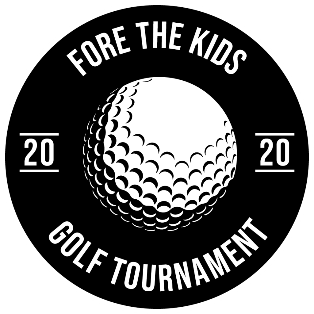 Fore The Kids 2020 Charity Golf Tournament logo