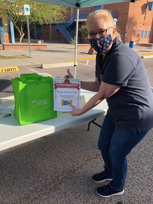 Tucson Thanksgiving Food Distribution