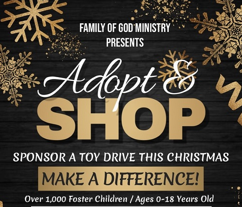 Family of God Ministry Christmas Toy Drive