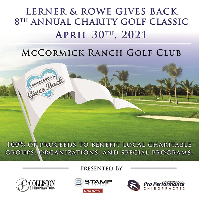 Annual Charity Golf Classic flyer