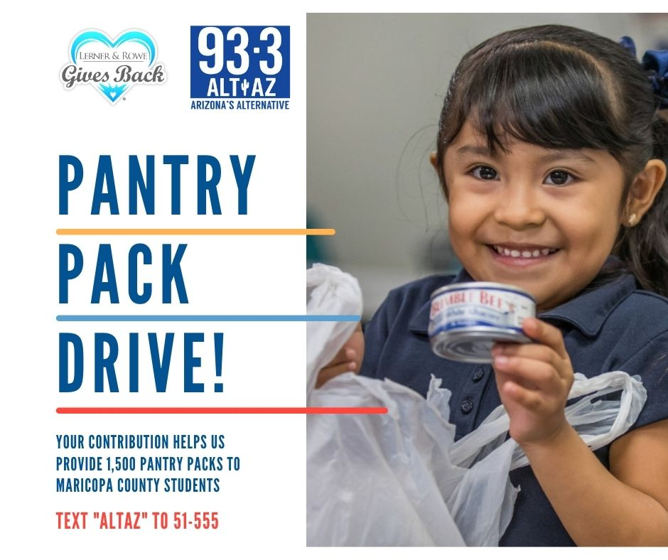 Maricopa County Pantry Pack Drive