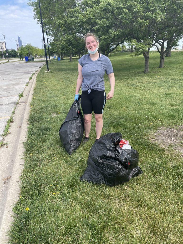Mermaid Straws' Illinois Clean-up Day