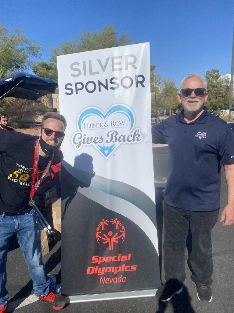 Special Olympics Nevada's LETR - 2021 Silver Sponsor